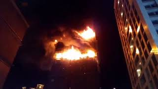 20180913 新莊工地建物發生大火 16、17樓燃燒中-民視新聞網