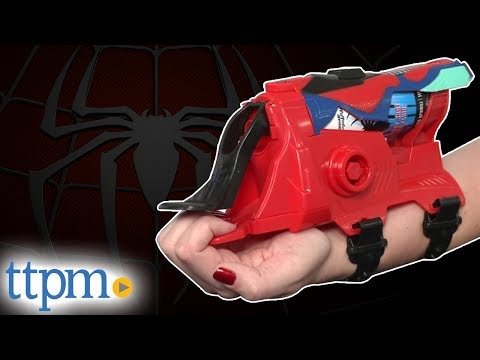 The Amazing Spider-Man 2 Spiral Blast Web Shooter - Spider-man Gear from Hasbro