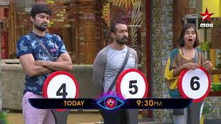 Which number will you choose? #NumberGame   #BiggBossTelugu2 Today at 9:30 PM
