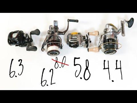 Передаточное число катушки: какое выбрать для твича, для джига... Как выбрать катушку для спиннинга