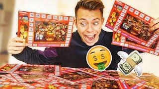 Jeg brugte 1000,-  på skrabelodder, og vandt......