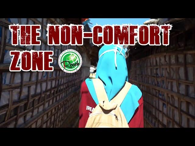 The Non-Comfort Zone (Zone tidak selesa) by : Amni