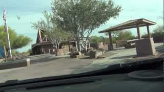 Yuman Man visits I-10 Freeway Rest Area near Tonopah, Arizona