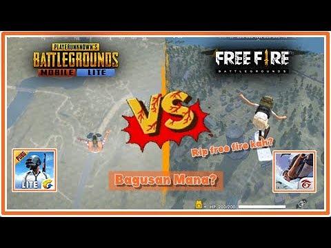 download PUBG Mobile LITE vs Free Fire ! Bagusan mana? Rip Free Fire?