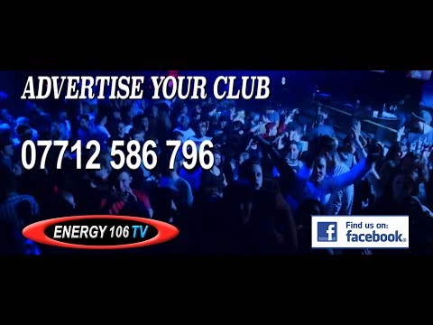 ENERGY 106 TV - Advertise your Club on TV