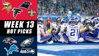 NFL WEEK 13 PICKS: Best Games