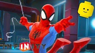 Çocuklar için DİSNEY INFİNİTY 2.0 Örümcek Adam ÖRÜMCEK Adam Çizgi film Oyunları Çocuklar için Video