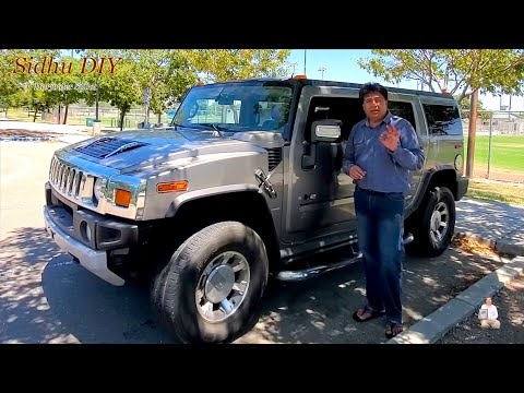 How To Fix Shifter is Stuck in HUMMER H2 | Locked Gear | Won't move from Park