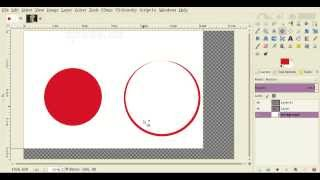 How to Make Circles with Gimp Drawing Tutorial