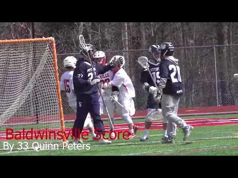 Full Game Spring Boys Junior Varsity Lacrosse Baldwinsville VS Pittsford 4/07/2018 4k