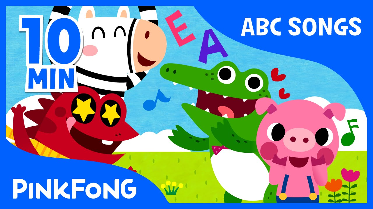 ABC Alphabet Songs | Phonics | + Compilation | PINKFONG Songs for ...