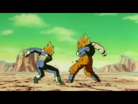 Vegeta and Goku get hit!