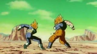 Vegeta and goku get hit!