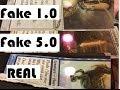 Magic Counterfeits DO NOT pass Light Test