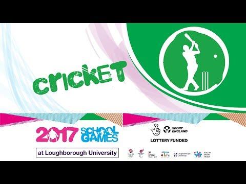School Games 2017 - Cricket - Final Day