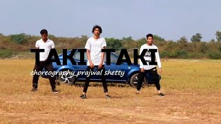 Taki taki dance cover/dj snake | easy dance vedio choreography by |prajwal shetty | for begners |