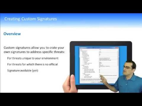 Creating Custom IPS Signatures