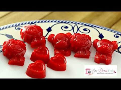 How To Make Cinnamon Gummy Bears ~ Silicone Candy Molds By BargainRollBack.com