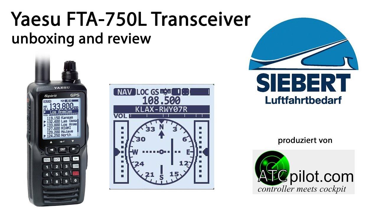 fb02387d97a Handfunkgerät Yaesu FTA-750L