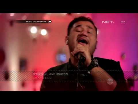 Pongki Barata ft Mike Mohede - Setia (Live at Music Everywhere) **