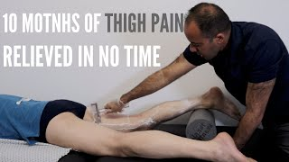 10 Months of Thigh/ Hip Pain Relieved In No Time (REAL TREATMENT!!!)