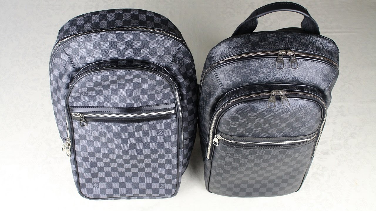 359479a5606f How To Spot a Fake Louis Vuitton Backpack REAL vs FAKE - YouTube