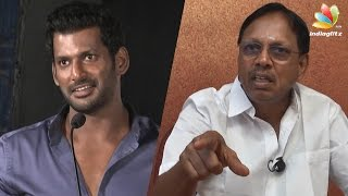 Thiruppur Subramaniam replies to Vishal about Maruthu pirated cd