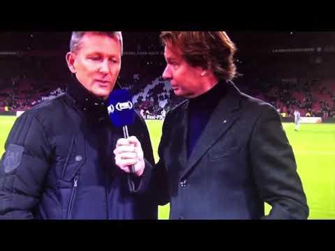 """Marco Van Basten roept: """"Sieg heil"""" op Live televisie"""