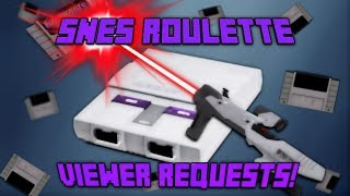 SNES Roulette: Viewer Request Livestream!