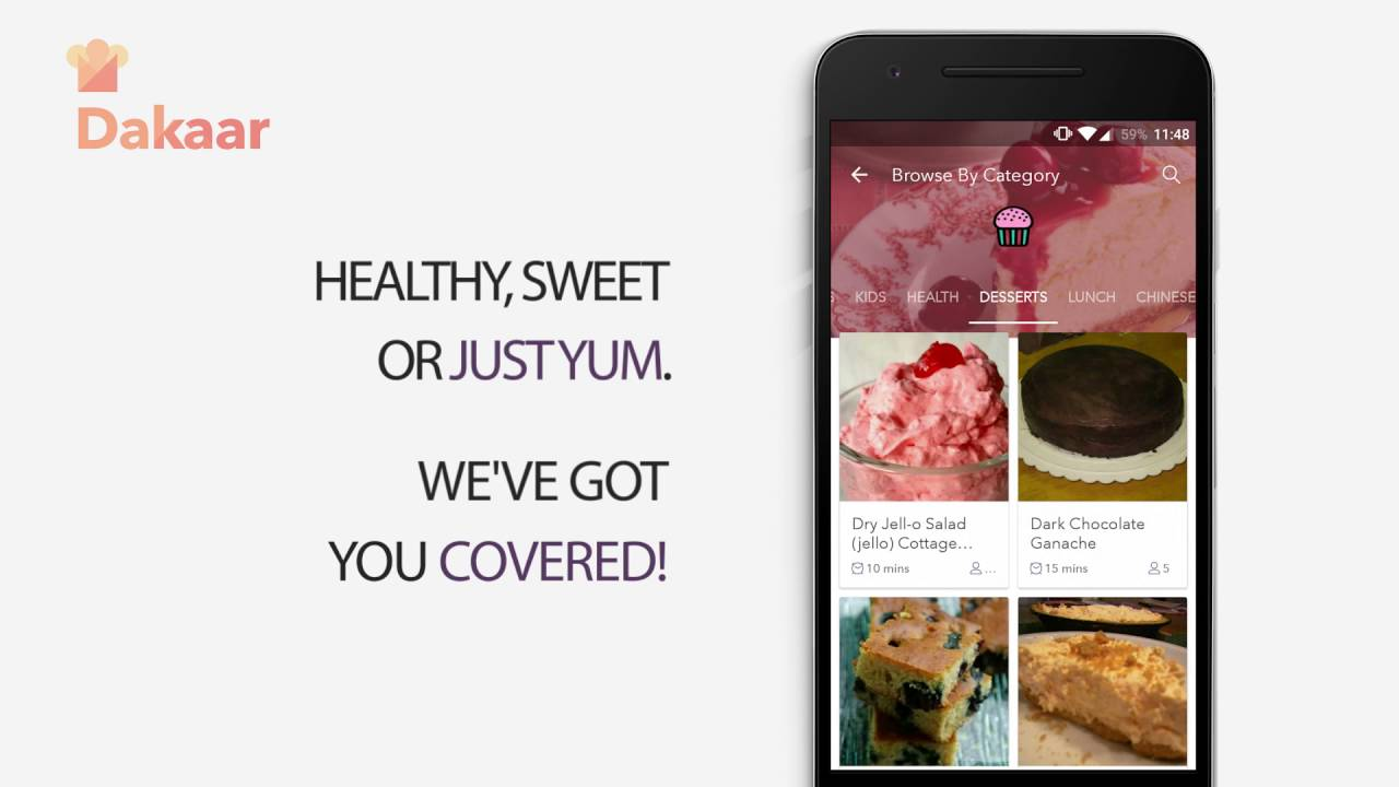 Dakaar your personal recipe app youtube dakaar your personal recipe app forumfinder Images