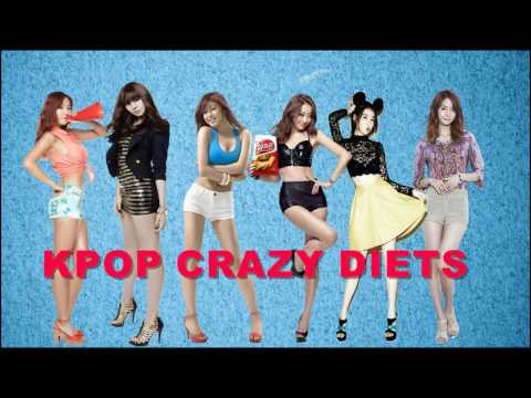 Would you do these CRAZY KPOP DIETS?