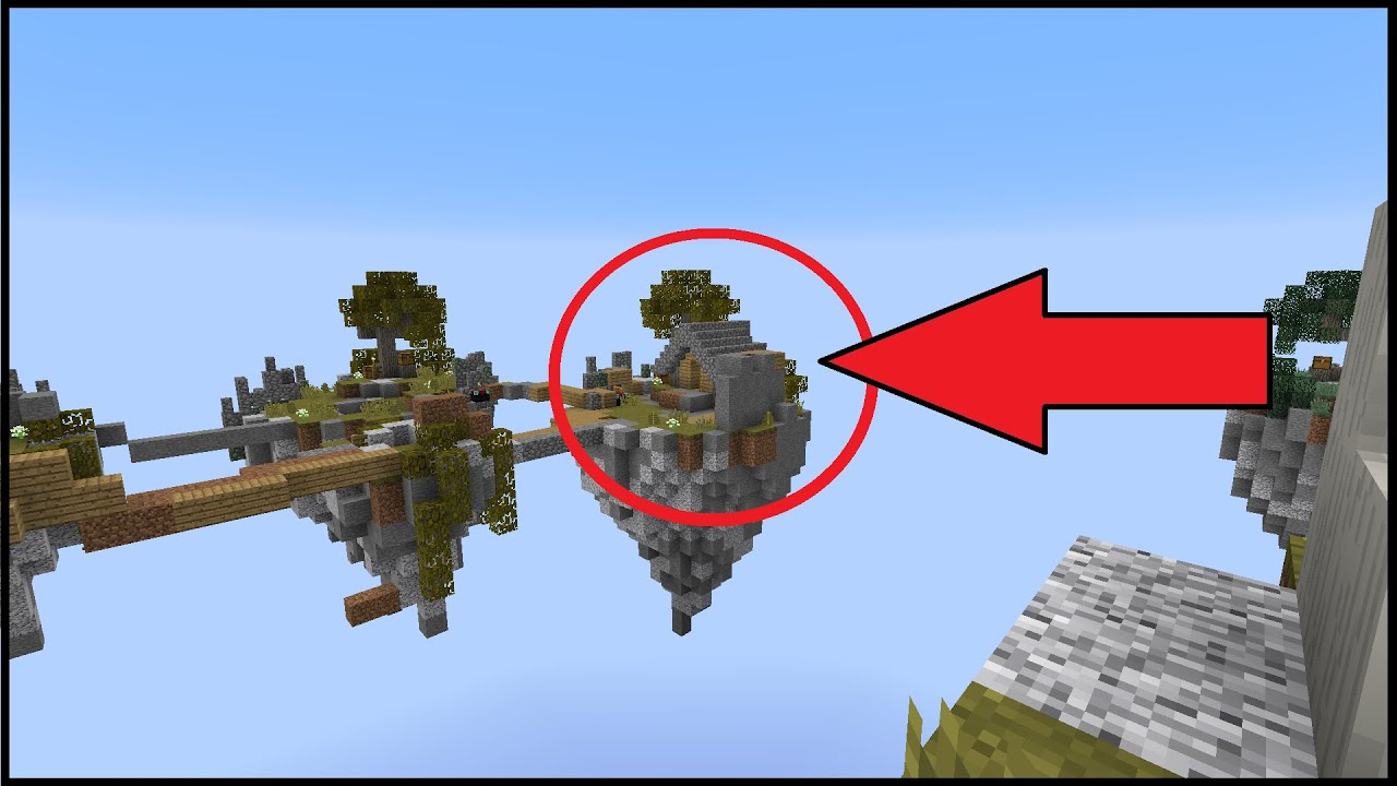Building a house in skywars