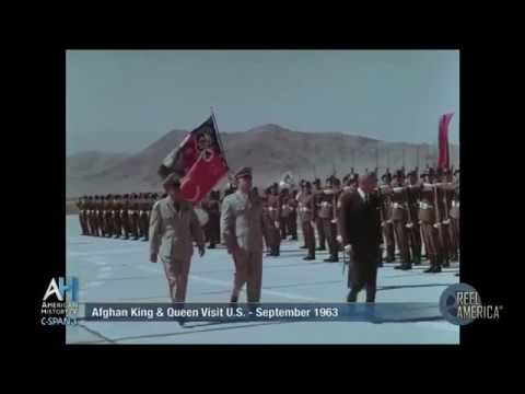 1963 King Mohammad Zahir visit to US