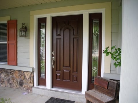 Front door design for small house ideas youtube for Front door design