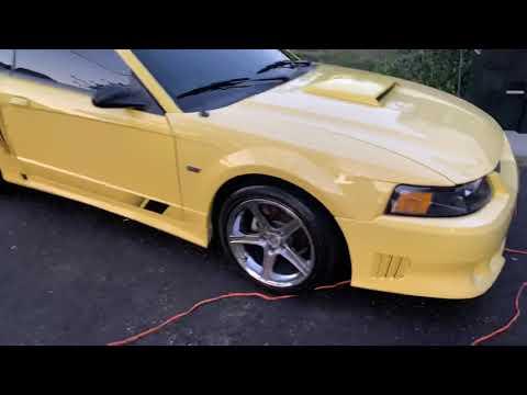 01 Saleen Mustang Exhaust