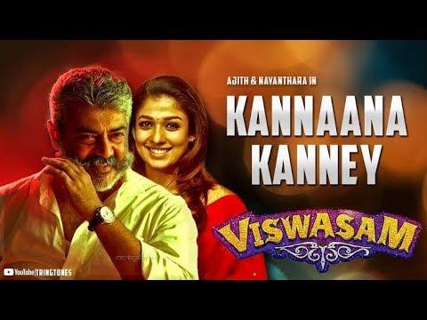 Kannaana Kanne Song | Sid Sriram | Ajith Kumar,Nayanthara| D.imman