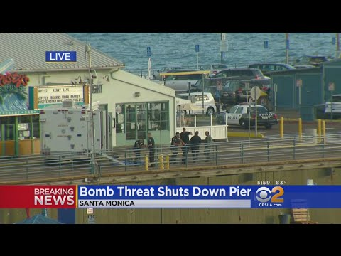 Bomb Threat Shuts Down Santa Monica Pier