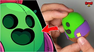 Spike tutorial - Brawl Stars clay Art