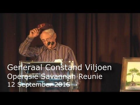 Operation Savannah 40 Year Reunion - Generaal Constand Viljoen