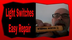 How To Prevent Electrical Shock Working With Lighting Switches