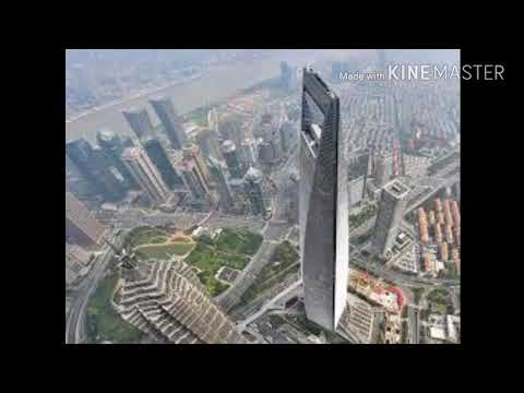Amazing view of Shanghai World Financial Centre, China