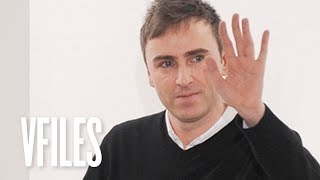 How Raf Simons Revolutionized the Fashion World - VFILES.DATA thumbnail