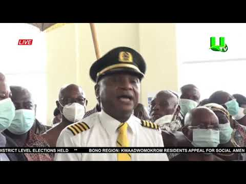 V/R: Africa World Airlines Conducts Test Flight To Ho