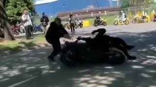 Bike funny video | clip | Racing bike funny video clip....