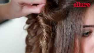 Свадебная прическа с локонами: видеоурок укладки