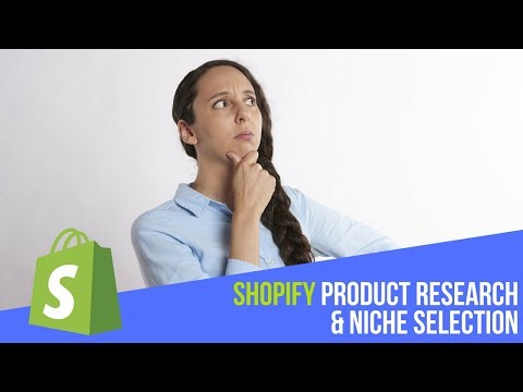 Ecom/Shopify dropshipping product research & niche selection