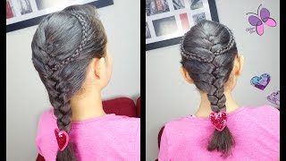 Accented French Braid | Classic Braids | Easy Hairstyles | Braided Hairstyles