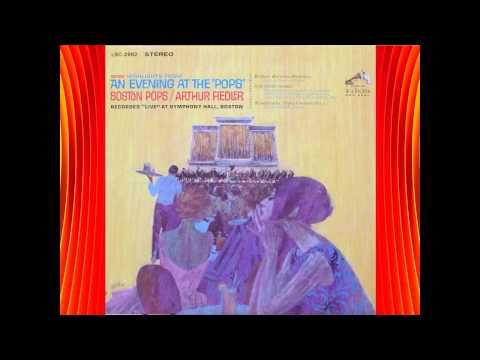Britten--Rossini--Matinées Musicales - (Live) Boston Pops, Fiedler