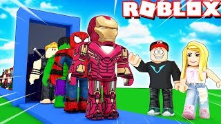 FABRYKA SUPERBOHATERÓW W ROBLOX! (Superhero Tycoon) | Vito vs Bella