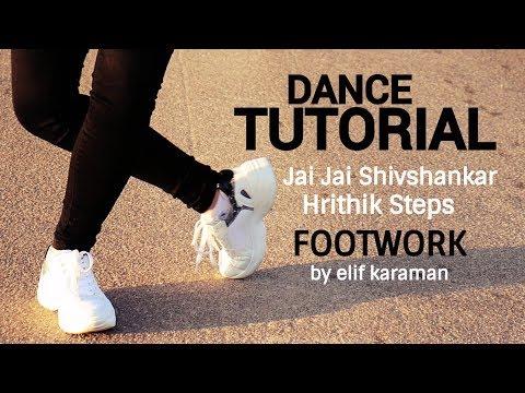 Dance Tutorial: Hrithik Footwork | Jai Jai Shivshankar